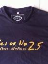 เสื้อ ภ.Yes or no 2.5 Size M