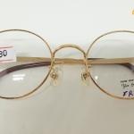 กรอบแว่นตา YinYang รุ่น YY-5 112 กรอบทอง ทรงกลม แนววินเทจ