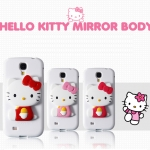 Multi Colors Of HELLO KITTY MIRROR Jelly Case for Samsung Galaxy S5, SV, G900