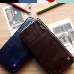 Zenus : Masstige Color Point Folder Faux Leather Cover Case For iPhone 5