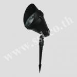 โคมไฟปักดิน,โคมฝังพื้น SL-12-5704-BK