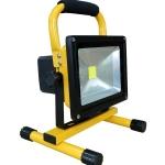 LED Flood light Battery Rechargeabel 20W