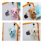 Teddy Bear Stuff Animal Anti Dust Ear Cap For Phone iPhone 4/4S, Galaxy Note S2 S3