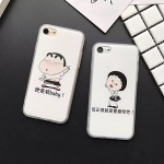 (151-410)เคสมือถือไอโฟน case iphone 5/5s/SE เคสนิ่ม Maruko ชินจัง