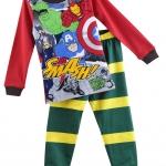 ชุดนอน Baby Gap ลายซุปเปอร์ฮีโร่ (Super hero) งานส่งออก USA เนื้อผ้าดี สกรีนเนี๊ยบ งานสวยเหมือนแบบ เอวยางยืด กางเกงมีก้นเผื่อใส่แพมเพิสด้วยค่ะ size 2T-7T