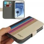 Case เคส LiYi Striped Samsung Galaxy Grand Duos (i9082)