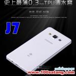 (027-418)เคสมือถือซัมซุง Case Samsung Galaxy J7 เคสนิ่มใสแบบบาง