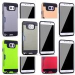 (436-029)เคสมือถือซัมซุง Case Samsung Galaxy S7 เคสนิ่ม+พลาสติกกันกระแทกเก็บการ์ดได้