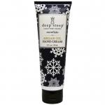Deep Steep, Argan Oil Hand Cream, Snow Flake, 2 fl oz (59 ml)