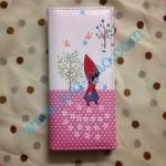 กระเป๋าลายการ์ตูนน่ารัก สีชมพูจุด