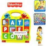 Fisher Price - บล็อกตัวอักษรและตัวเลข สอนศัพท์ภาษาอังกฤษ