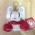 พวงกุญแจตุ๊กตาแมว Myoo ท่านั่ง จากซีรีย์ Secret Garden