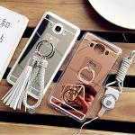 (430-003)เคสมือถือซัมซุง Case Samsung Galaxy J7(2016) เคสนิ่มพื้นหลังแววสะท้อนสวยๆ พร้อมอุปกรณ์เสริม