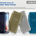 Samsung : Official Genuine Case Clear View Cover For Samsung Galaxy S6