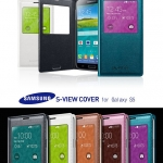 Genuine Samsung S-View Case Cover for Samsung Galaxy S5, SV, G900
