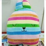 หมอนผ้าห่มสอดมือ Craftholic ลายที่ 7 (ซื้อ 3 ผืน ราคาส่ง 450 บาท/ผืน) คละลายได้
