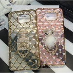 (442-014)เคสมือถือซัมซุง Case Note5 เคสนิ่มใสขอบชุบแววลายโมเสคแก้ว