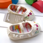 BE2028 (Pre) รองเท้าผ้า สาวน้อย (0-1 ขวบ)