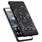 (420-003)เคสมือถือ Case Huawei P8 Lite เคสนิ่มสไตล์กันกระแทกลายมังกร