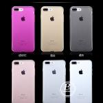 (436-132)เคสมือถือไอโฟน Case iPhone 7 Plus เคสนิ่มใสบางเบาพื้นหลังกันรอยนิ้วมือ