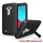 (002-061)เคสมือถือ LG G4 เคสกันกระแทกไอเฟลซิลเวอร์โกลด์