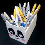 ปากกา ลาย Rilakkuma ใช้ยางลบ ลบออกได้ (ขายยกเซ็ต 4 ด้าม ราคา 99 บาท)