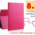 (027-459)เคสมือถือซัมซุง Case Samsung Galaxy Tab A 8.0 นิ้ว เคสพลาสติกฝาพับ PU Semilattice
