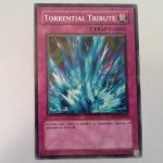 RP02-EN034 : Torrential Tribute / Raging-Stream Burial (Common) - Used
