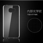 (436-085)เคสมือถือซัมซุง Case Samsung S6 Edge Plus เคสนิ่มใสบางพื้นหลัง DOT กันรอยนิ้วมือ