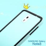 (423-023)เคสมือถือซัมซุงโน๊ต Case Note3 เคสบัมเปอร์โลหะ+ฝาหลังพลาสติกโทนสีเดียวกัน
