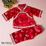 SN-YI010 เสื้อแขนยาว + กางเกง (80-120)