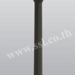 โคมไฟหัวเสาสนามนอกบ้าน SL-11-5021F2-BK