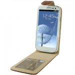 Case เคส Crocodile Samsung Galaxy S 3 III (i9300)(Brown)