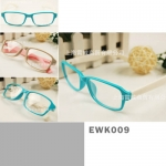 แว่นตาแฟชั่น เกาหลี EWK009 กรอบเหลี่ยม สีแบบด้าน