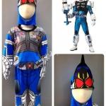 Masked Rider Fourze- Cosmic (งานลิขสิทธิ์) ชุดแฟนซีเด็กมาสค์ไรเดอร์โฟร์เซ่ - คอสมิค 3 ชิ้น เสื้อ กางเกง & หน้ากาก ให้คุณหนูๆ ได้ใส่ตามจิตนาการ หรือจะใส่เป็นชุดนอนก็ได้ค่ะsize S, M, L, XL