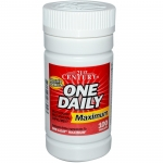 21st Century Health Care, One Daily, Maximum, Multivitamin Multimineral 100 เม็ด