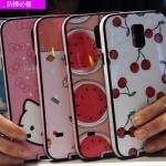 (440-034)เคสมือถือซัมซุง Case S5 เคสนิ่มขอบสีพื้นหลังลายสวยๆน่ารักๆ