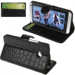 Crocodile HTC One (M7) (Black)