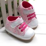 BE2001 (Pre) รองเท้า ผ้าใบ Floral (1-3 ขวบ)