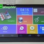 "GPSนำทาง Android 7.0"" รุ่น M515 (MX18) CPU QuardCore 1.3GHZ มีกล้องหน้า เลนส์ปรับระดับได้ 512 RAM + Bluetooth+wifi+AV-IN (สีดำ)"