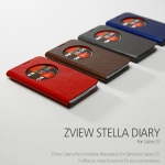 Zenus : Avoc ZView Stella Leather Diary Case for Samsung Galaxy S5, SV, G900