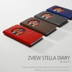 Zenus : Avoc ZView Stella Leather Diary Case for Samsung Galaxy S5, SV, G900