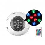 ไฟใต้น้ำ LED swimming pool IP67 RGB 12w