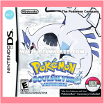 Pokémon SoulSilver Version for Nintendo DS (US) ¬ No Pokéwalker 95%
