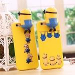 (462-006)เคสมือถือไอโฟน case iphone 5/5s/SE เคสนิ่ม Hello 3D การ์ตูนมินเนี่ยนน่ารักๆ