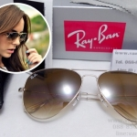 RB 3025 AVIATOR LARGE METAL 001/51 58-14 2N <ชาเฟด>