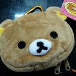 กระเป๋าใส่กุญแจ ลาย Rilakkuma (ซื้อ 6 ชิ้น ราคาส่งชิ้นละ 100 บาท)