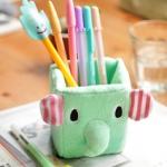 ที่ใส่ดินสอหรือมือถือ ทรงเหลียม Sentimental Circus Elephant ช้างน้อย