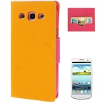 Case เคส Cross Samsung Galaxy S 3 III (Yellow)