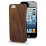 Case เคส Walnut Wood Material iPhone 5